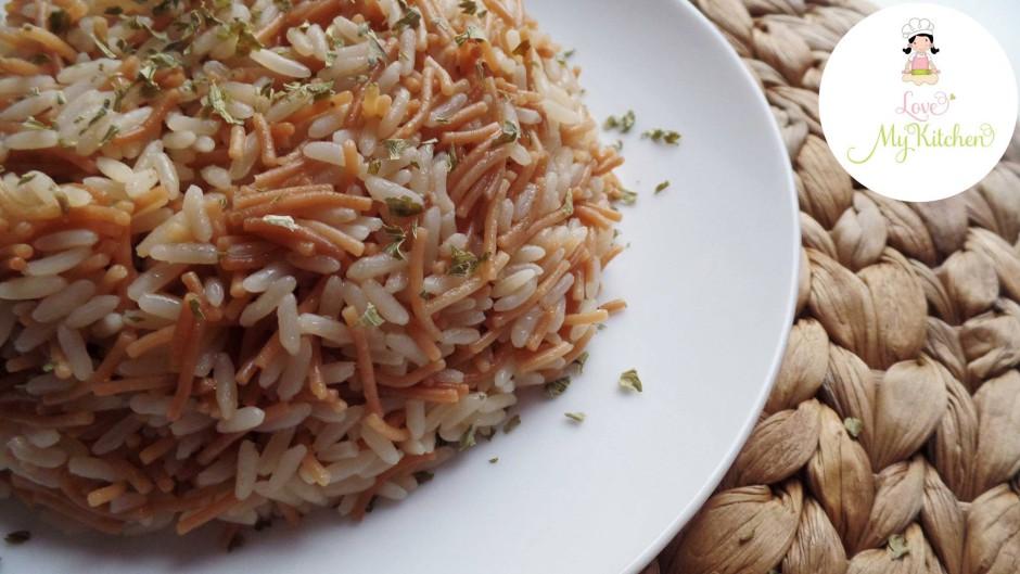 grundrezept arabischer reis mit fadennudeln riz 3arabi love my kitchen leckere rezepte. Black Bedroom Furniture Sets. Home Design Ideas