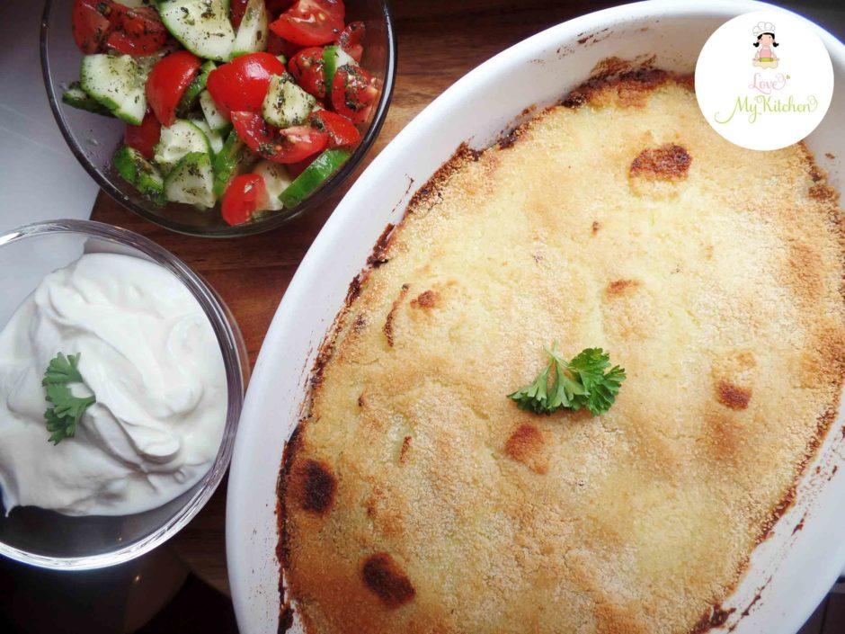 Kibet Batata | libanesischer Hackfleisch-Kartoffelpüree-Auflauf ...
